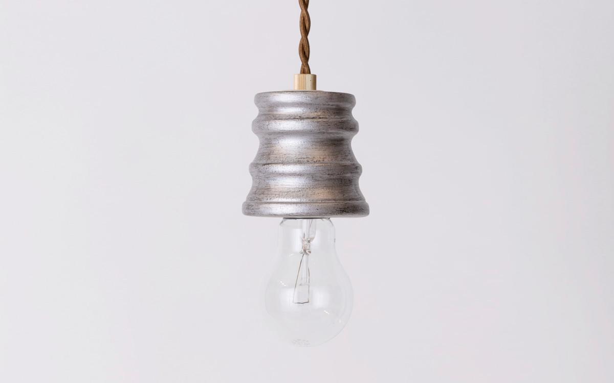 パルテノンシルバーペンダントタイプのランプシェード