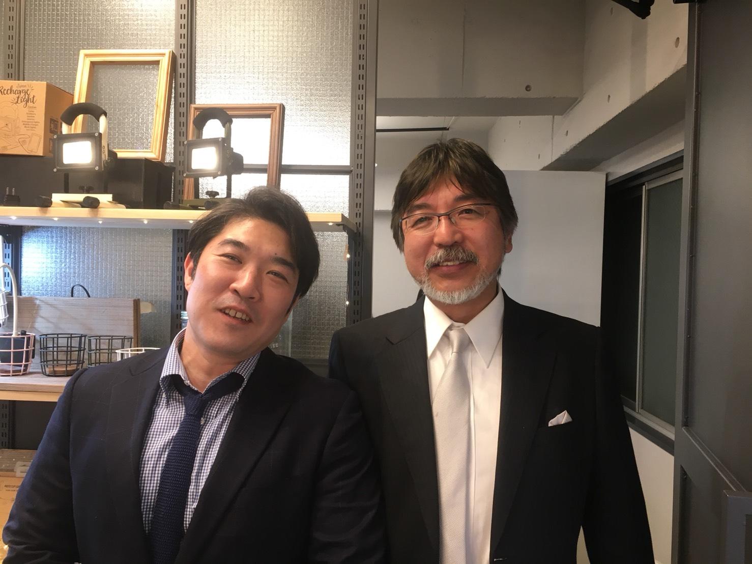 黒澤氏とツーショット