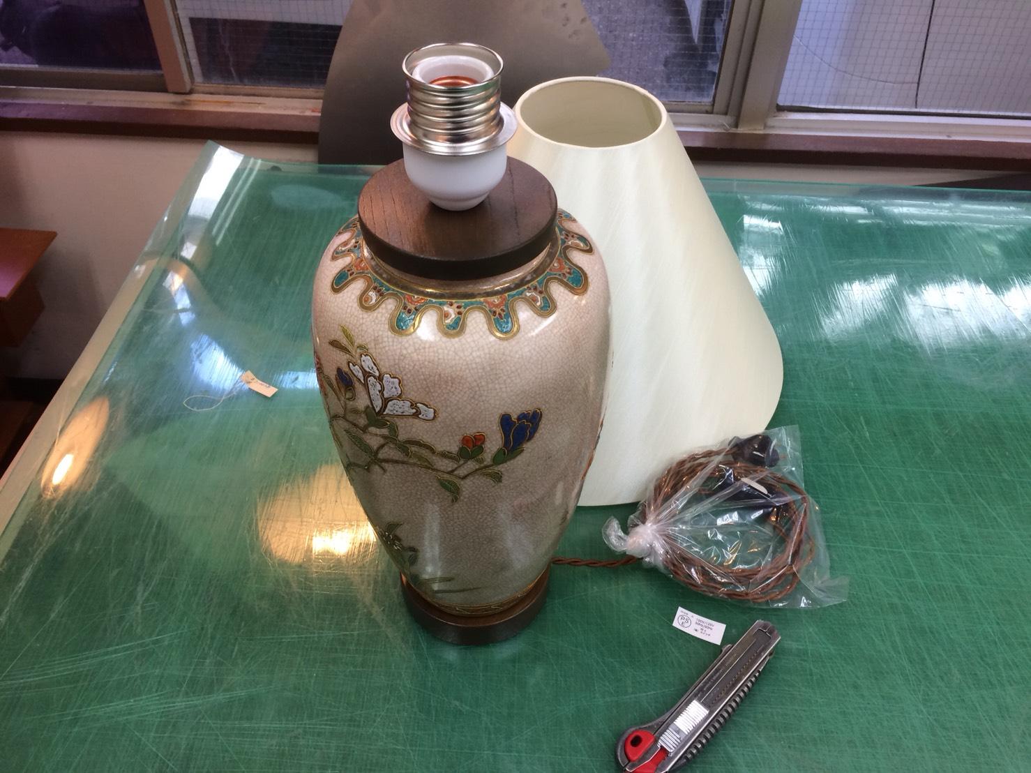 陶器スタンドシェード2