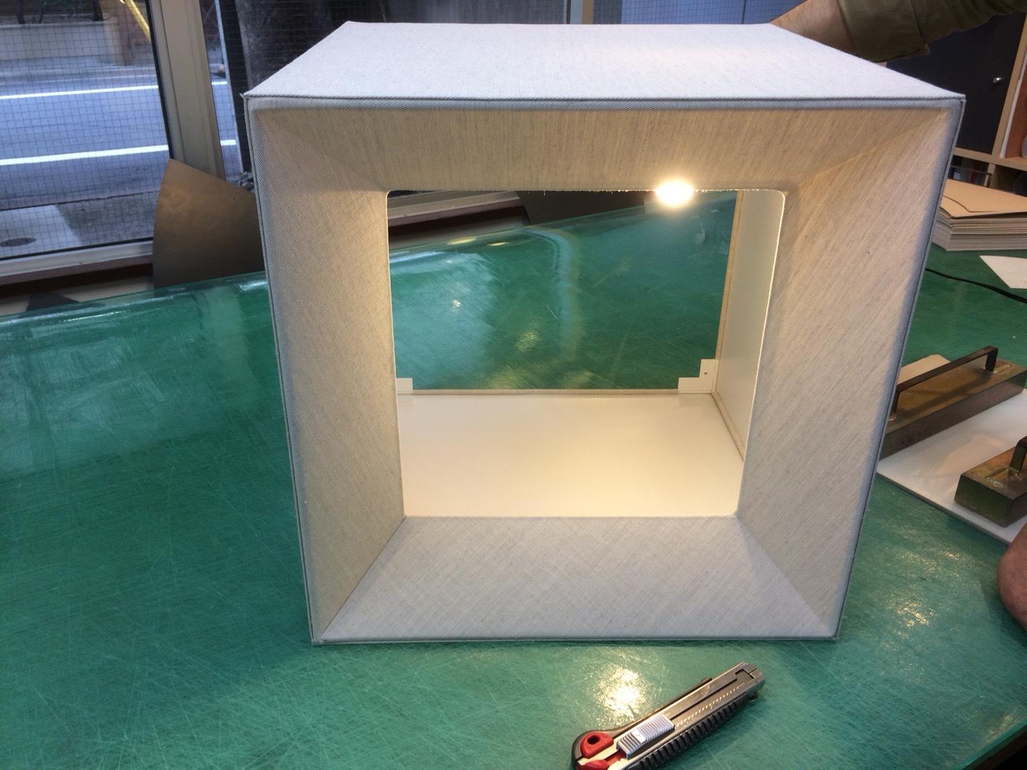 角型ランプシェード