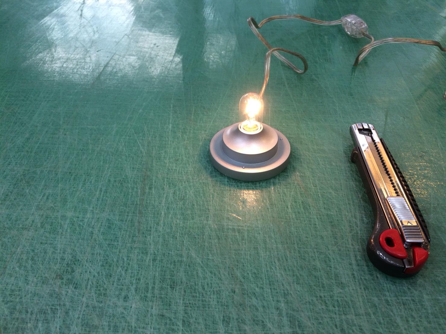 ワークショップ用ランプシェード