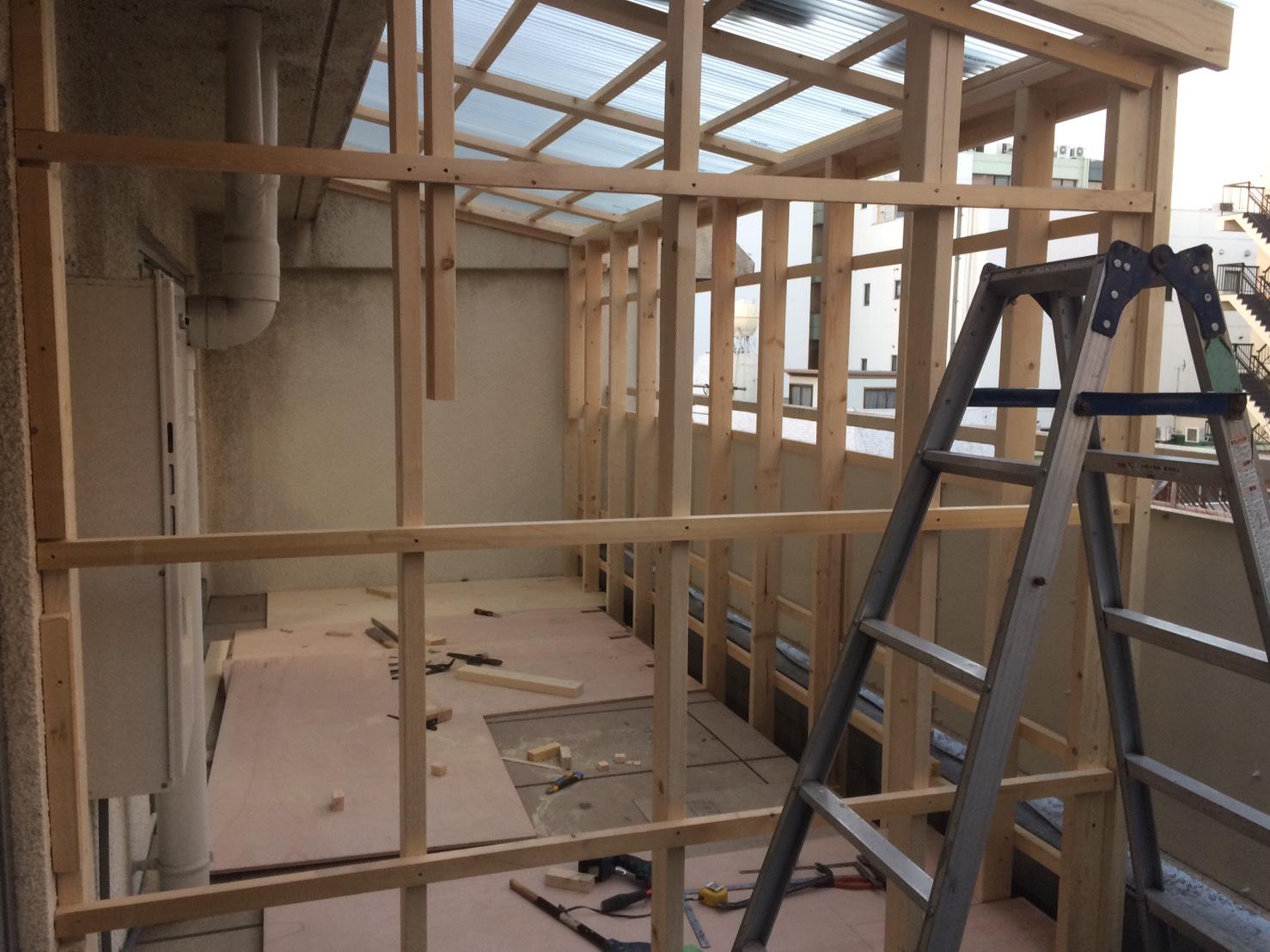 工房の作業スペースの拡充
